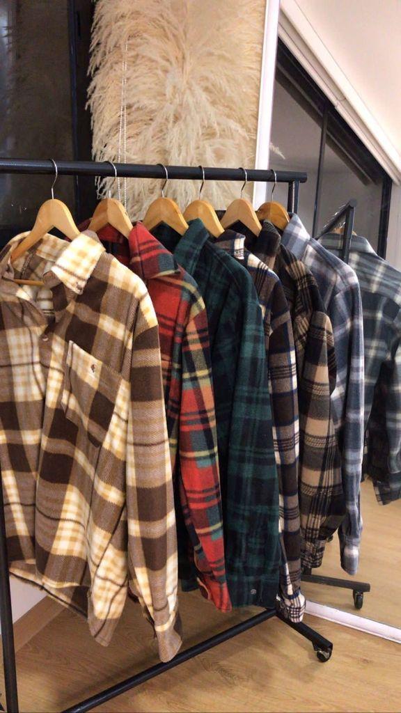 Plaid jackets colores