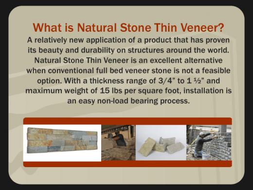 Thin Veneer