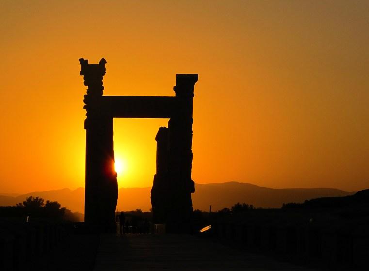 Persepolis Sunset