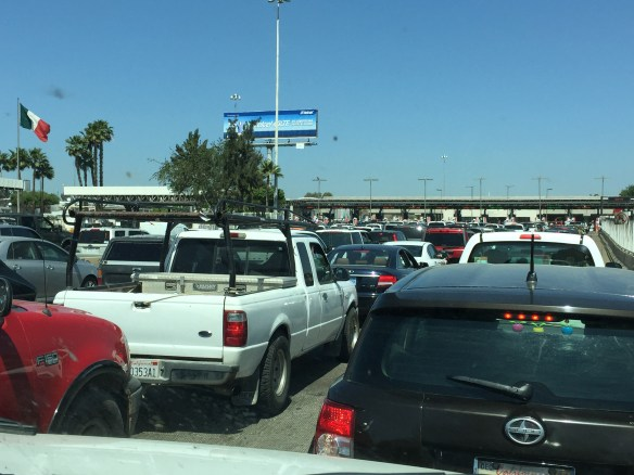 Border crossing takes way too long