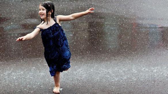 wet child