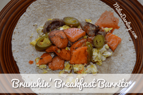 Brunchin' Breakfast Burrito