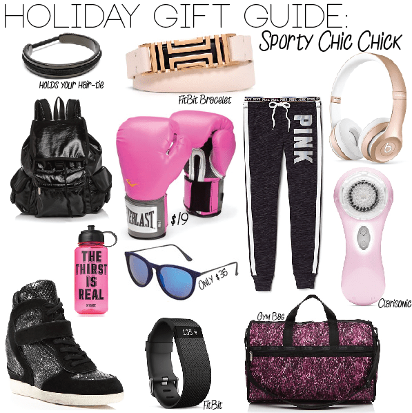 Sport Chic Chick Gift Guide for the Sporty Spice in us all on MilanDarling.com