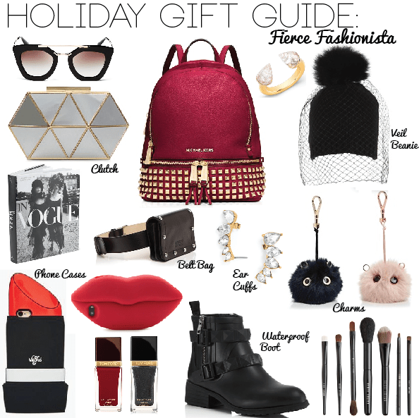 Holiday Gift Guide: Fierce Fashionista