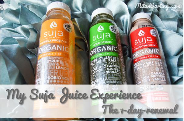 My Suja Juice Experience