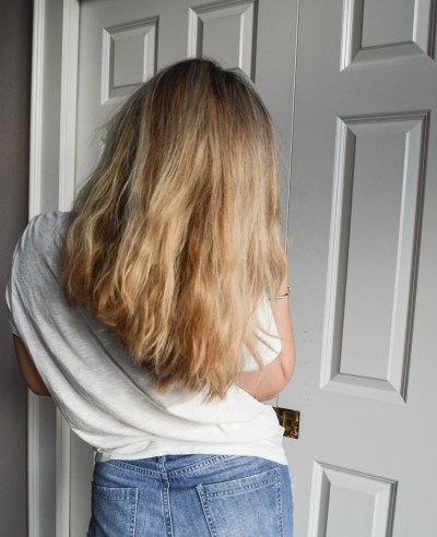 Deep Conditioning Hair Tips with HASK Monoi Coconut Oil on MilanDarling.com