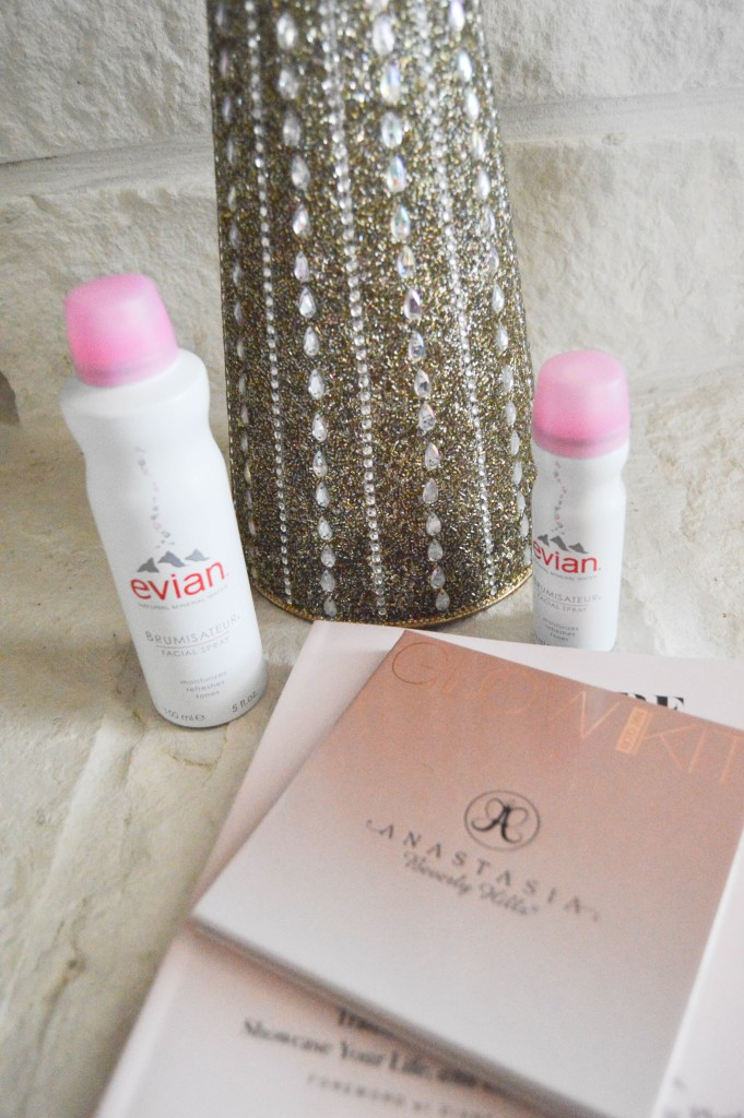 Healthy Glowing Skin with Evian Facial Spray {Plus a Giveaway}