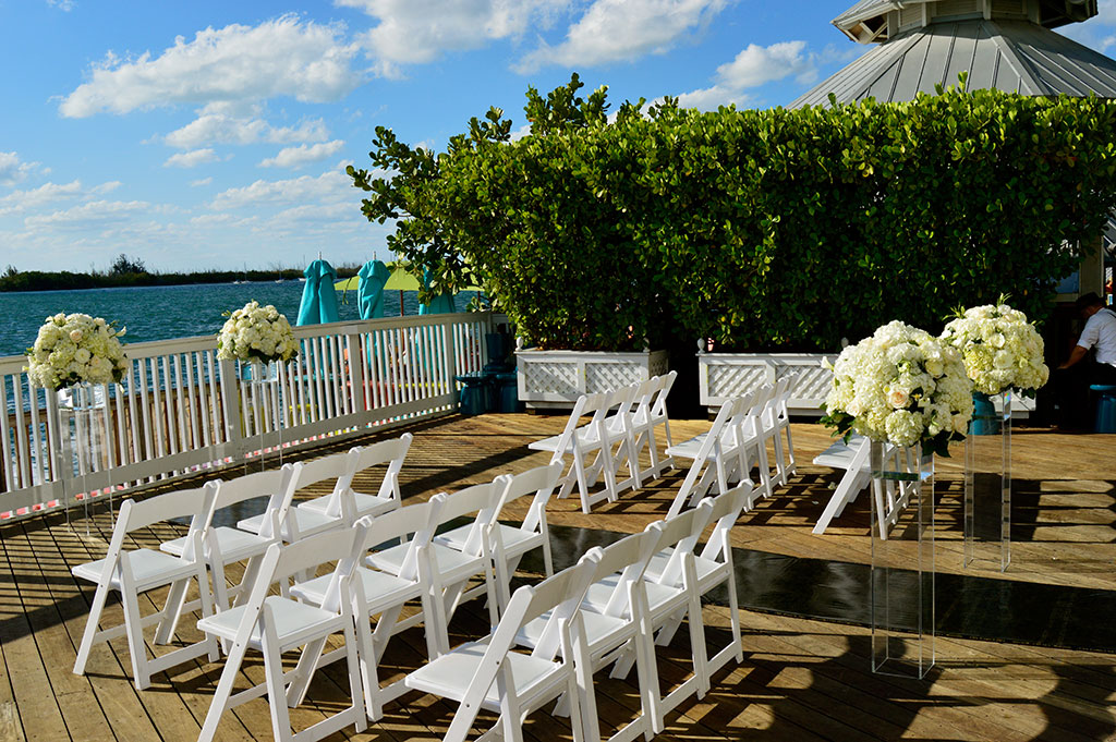 Ocean Key Ceremony Pier