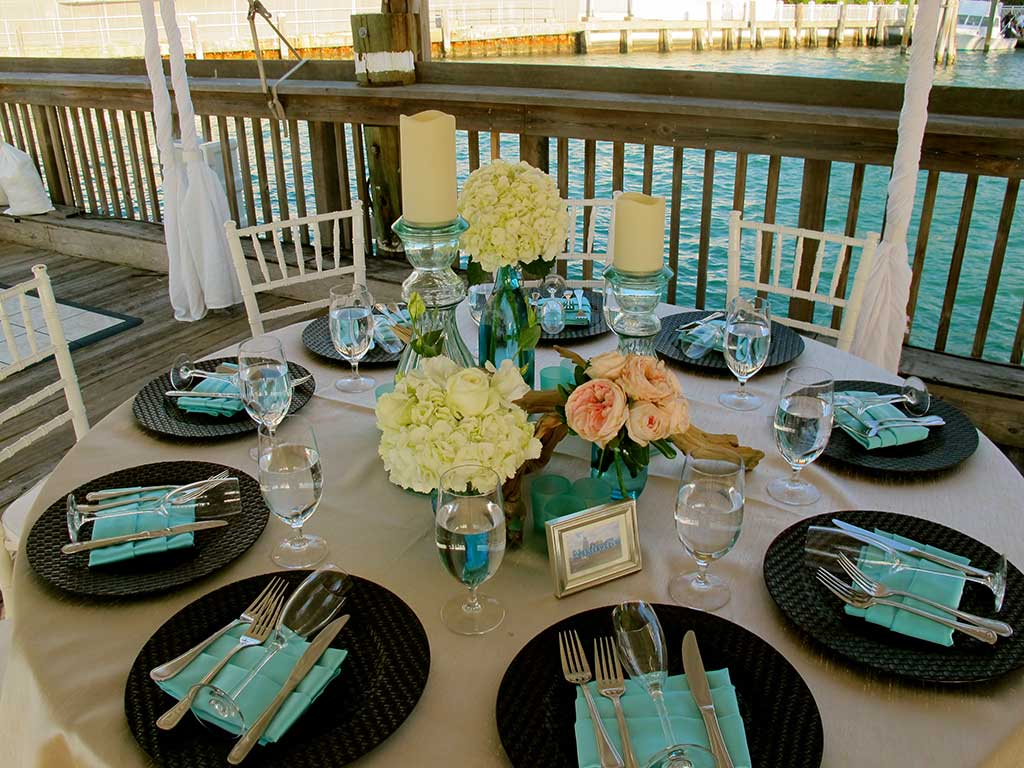 Ocean Key Sunset Pier Wedding