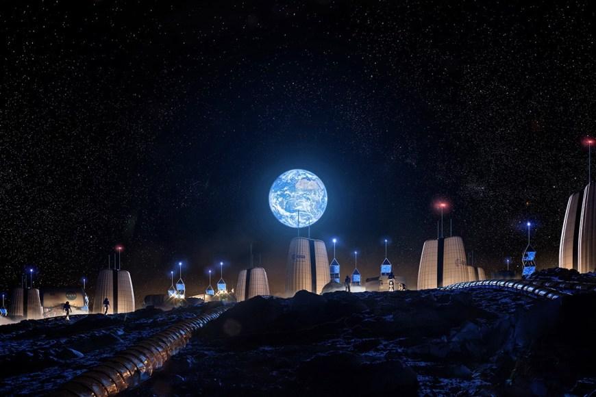 2 Village on the Moon