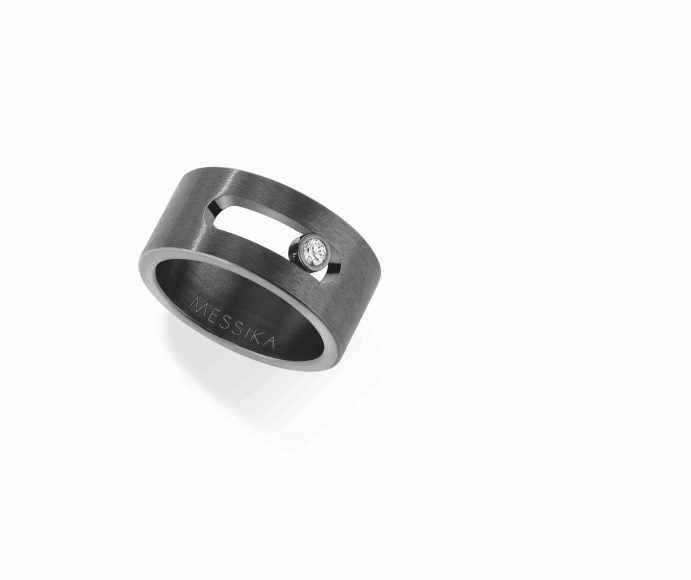 Messika Joaillerie - Bague Titanium Graphite 6562