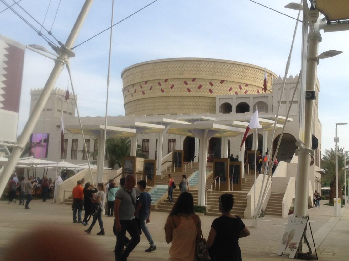 Qatar Pavilion, Milano Expo 2015