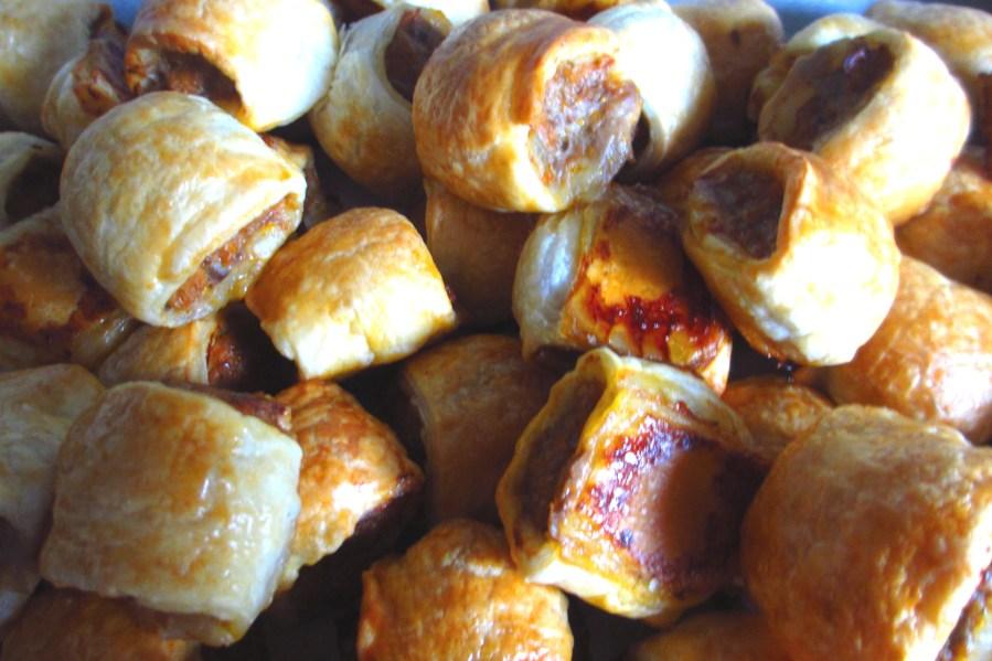 Veal & Pork Sausage Rolls