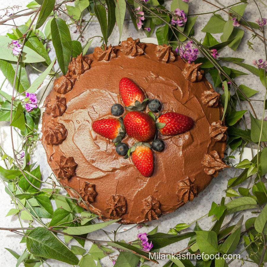 Delicious Vegan Chocolate Cake