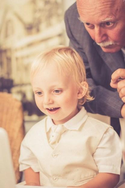 Svadba v Bratislave v Au Cafe, svadobna hostina s chlapcekom