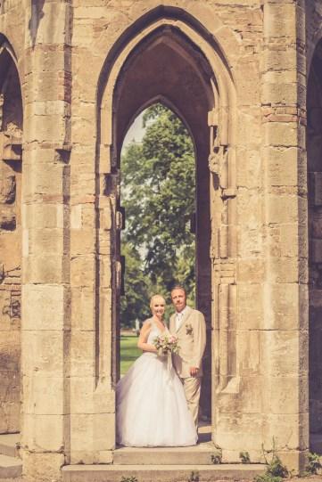 Svadba v Bratislave, vezicka v Sade Janka Krala