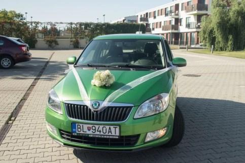 Svadba, Bratislava, Cik Cak centrum, svadobne auto