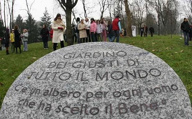 Giardino dei Giusti: svelati i nomi di 5 nuove personalità | Notizie Milano - Cityrumors Milano