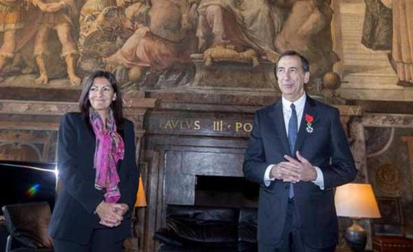 Il Sindaco Giuseppe Sala ha ricevuto la Légion D'Honneur