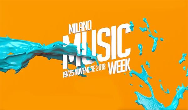 Torna dal 19 al 25 novembre Milano Music Week