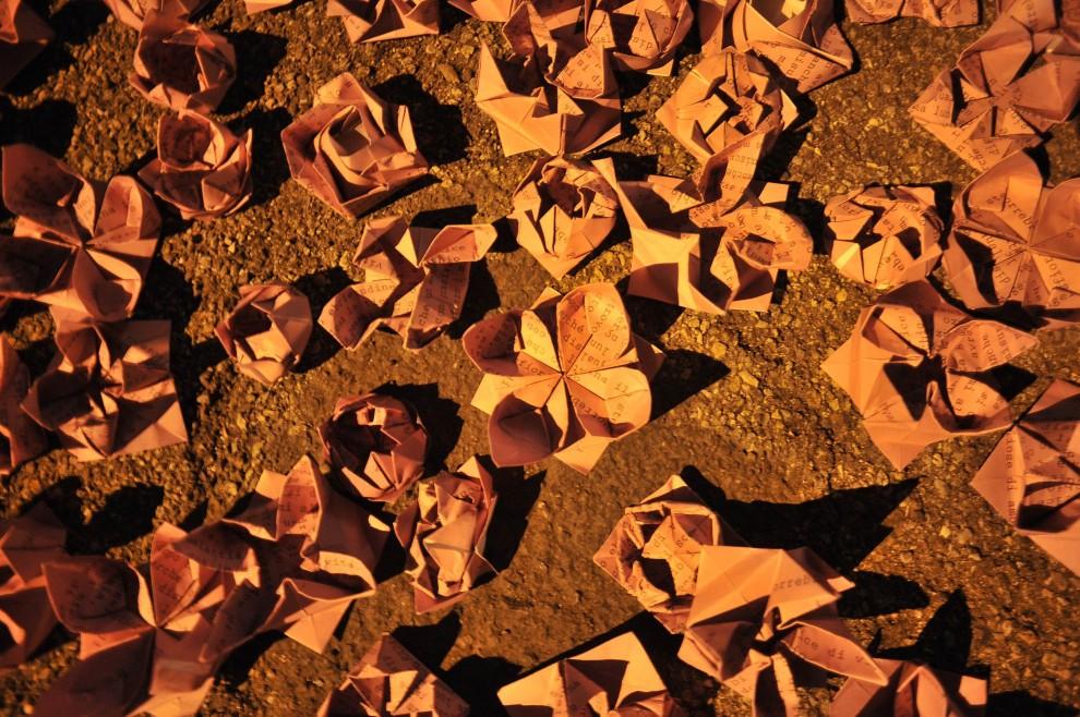 Gli origami di Alda Merini contro la violenza sulle donne