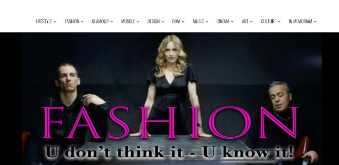 New Month/New Cover: Fashion 101 w/Madonna | MILANO411