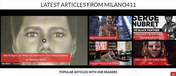 MILANO411.com Speaks: Check out Nile Rodgers. Musical Legend | MILANO411