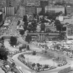 Ecco come si presentava negli anni '70 l'area delle varesine, dove oggi sorge il progetto di Porta Nuova alias Repubblica-Garibaldi.