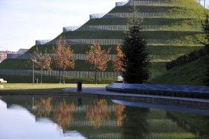 La collina che caratterizza il nuovo parco