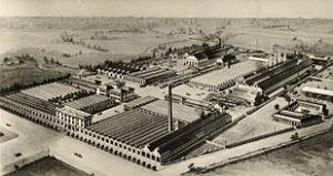 Vista dell'area industriale del portello negli anni '30