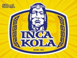 Il marchio della mitica IncaKola, citata da Robecchi, che non può mancare in una metropoli multietnica