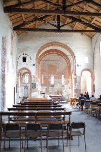 Interno della Chiesa Rossa (foto Giovanni Dall'Orto)