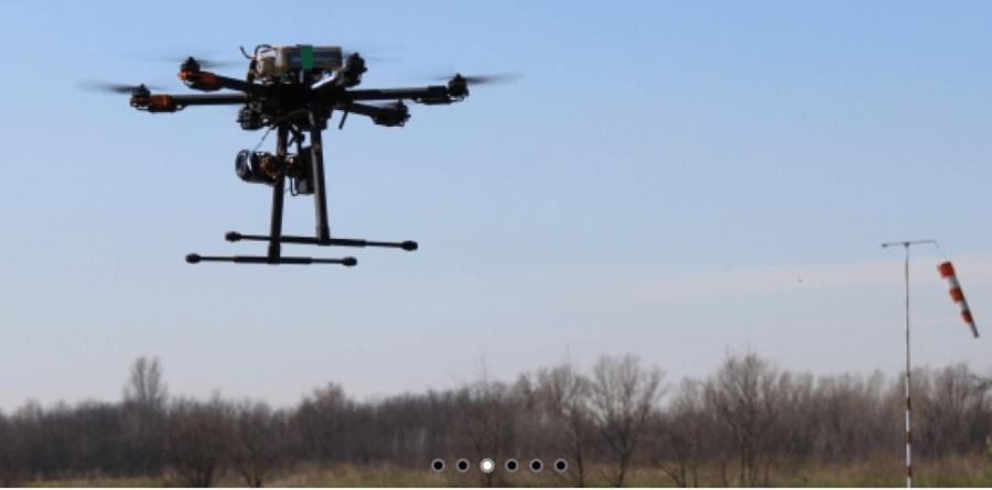 matrimonio con drone