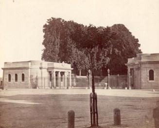 I caselli della Porta Volta agli inizi del '900