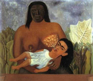 Frida Khalo - Mi nana y yo - wetnurse