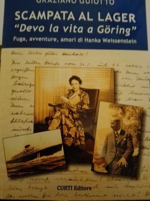 La copertina della biografia scritta da Graziano Guiotto