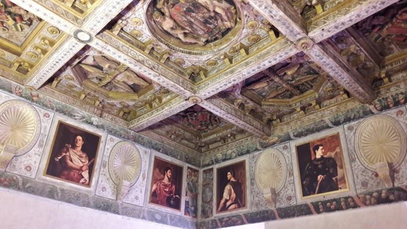Uno degli ambienti del Palazzo Ducale, già dimora di Vespasiano Gonzaga e oggi Museo Civico