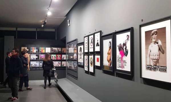 Un'immagine della mostra di Banksy al Mudec di Milano