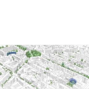 urban view of aviary network