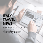 Italy Travel News