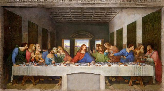 Last Supper Da Vinci 1495