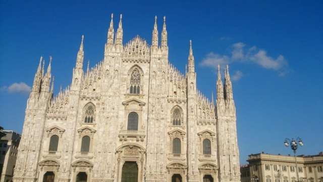 The Duomo Cathedral Milano