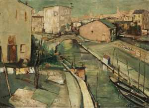 Veduta di Comacchio by Tato