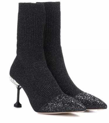 модные ботинки Miu Miu 2018