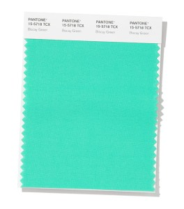 PANTONE 15-5718 Biscay Green - Бискайский зеленый