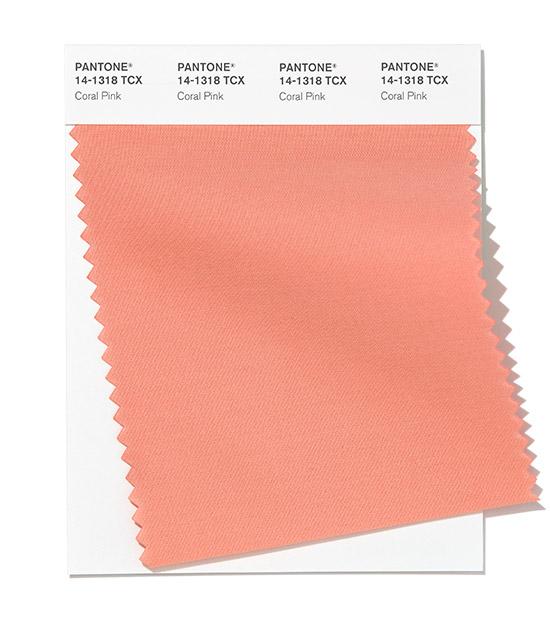 PANTONE 14-1318 Coral Pink - Коралловый розовый