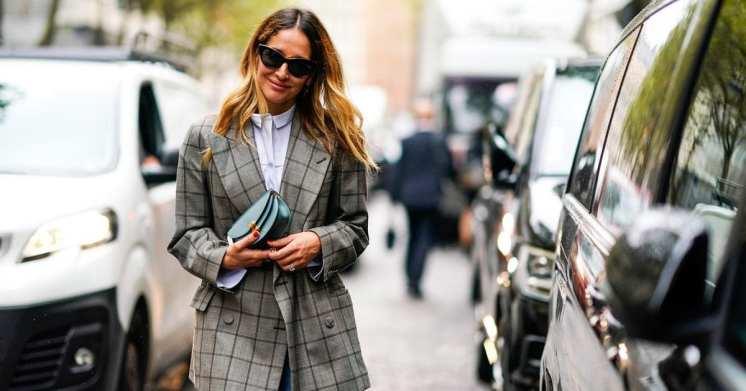 модный блейзер 2018 стрит стайл