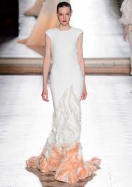 свадебные платья с вышивкой Свадебное платье рыбка Tony Ward Haute Couture осень-зима 2017/18