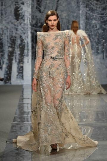 шикарное Свадебное платье Ziad Nakad Haute Couture 2017