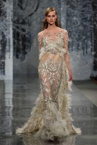 Свадебное платье рыбка Ziad Nakad Haute Couture 2017